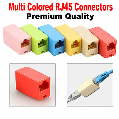 RJ45 CAT5e Network Lan Extention Coupler Joiner Cable Extender Ethernet Adaptor