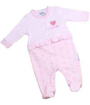 BABYPREM Baby Clothes Girls All-in-one Babygrow Sleepsuit Shower Gift NB 3 6 mth