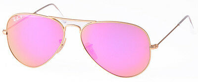 """RAY BAN RB 3025 112/1Q Gr.58 """"POLARIZED"""" AVIATOR """"LIMITED EDITION"""" SONNENBRILLE"""