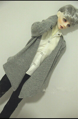Cool Hoodie Jeans Jacket  For BJD Doll 1//4 MSD,1//3,Uncle  Doll Clothes CMB83