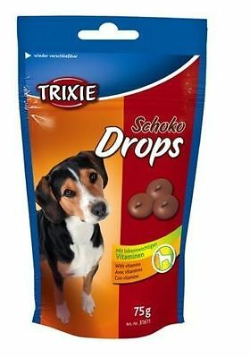 Dog Treats Food Snacks Candies Chocolate Drops 75g by Trixie Expiry: 06/2018