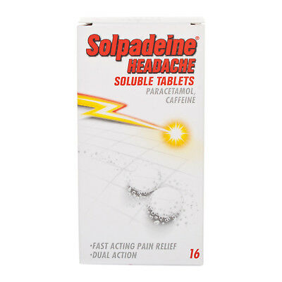 Solpadeine Headache Soluble Fast Acting Tablets for - 16 Tablets