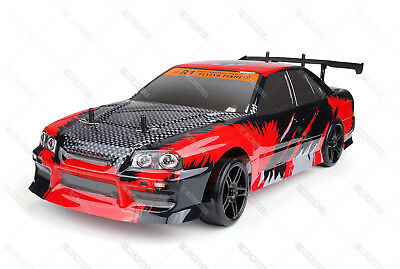 HSP 2.4Ghz 1/10 Electric Flying Fish RC On Road Drift Car RTR 94123 4WD 12335