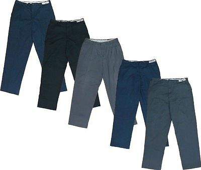 32x29 (5) Used Uniform Work Pants Cintas, Unifirst, Dickies, Redkap ect