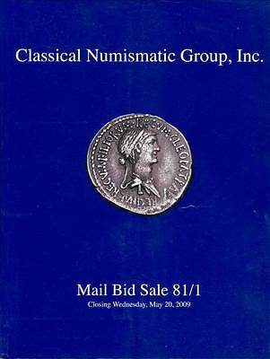 CNG, Greek, Roman & Byzantine Coins, Auction Catalogue #81/1, May 2009