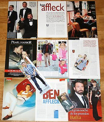 BEN AFFLECK spain clippings 1990s photos pictures magazine articles actor cinema