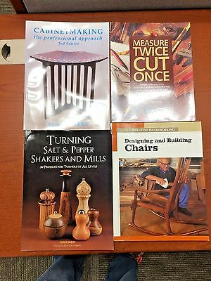 4 Woodworking Manuals