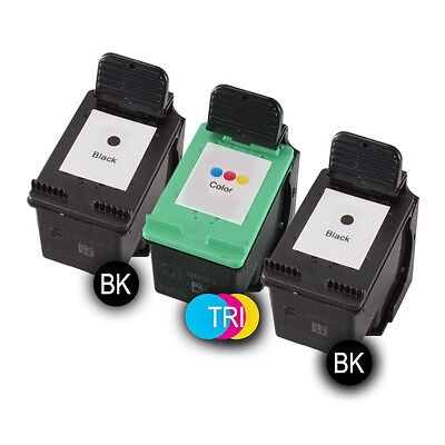 3 CARTUCHOS DE TINTA Ink-Pro NON OEM pack color N339 BK - N344 TRI para HP Ph...