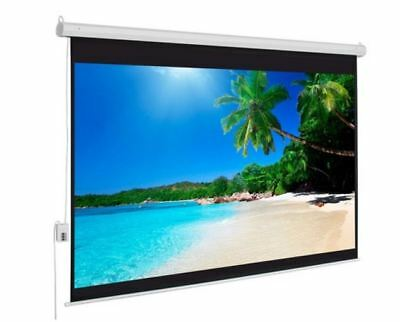 """100"""" 4:3 Motorised Projector Screen with Remote"""
