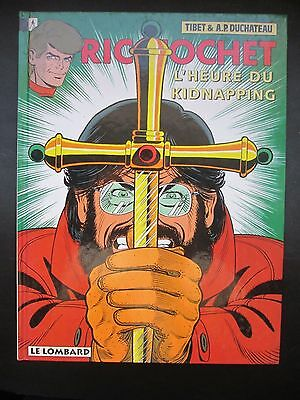 Tibet Duchateau Ric Hochet N°57 L'heure Du Kidnapping 1997 Eo Comme Neuf