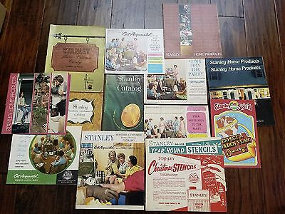 Vintage Catalog Lot 1966-1981 Stanley Home Products Christmas Year Round Stencil