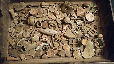 Collection of Metal Detecting Finds