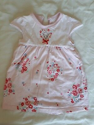 Girls summer dress with attached vest 0-3 months