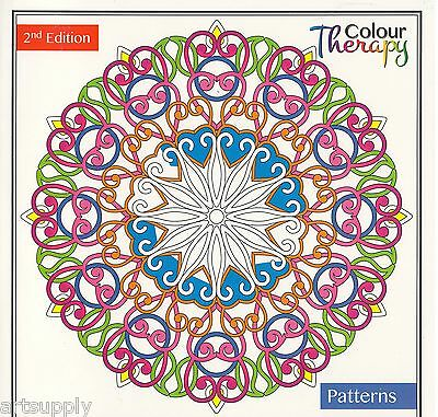 Colour Therapy Anti-Stress Adult Colouring Books 30 Pages/Animals/Pattern/Floral