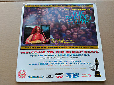 Ep The Wonder Stuff - Welcome To The Cheap Seats - Polydor Uk 1992 Vg+