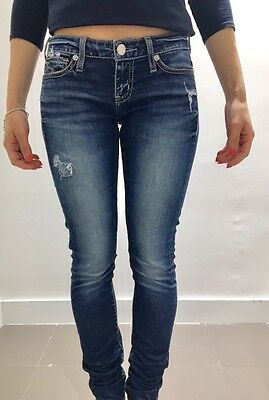 Jeans Guess Donna Denim Strass 40 26