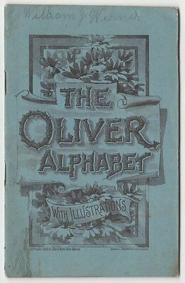 1889 Oliver Chilled Plow Works ABC alphabet advertising booklet
