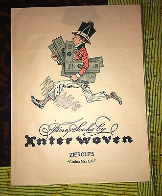 Vintage Fine Socks By Inter Woven Zierolf's Clothing Store Product Envelope