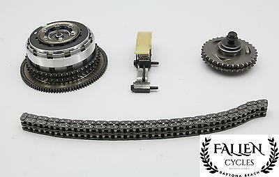 10 Harley Road Glide FLTRX Clutch Basket Primary Gear Chain Tensioner Kit