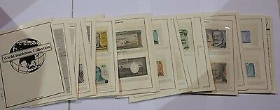 Mystic Stamp Co. World Banknote Collection 150 notes Spanning Decades W/ Info