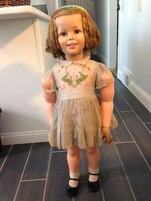 """Original 1959 vintage 36"""" Ideal SHIRLEY TEMPLE doll"""