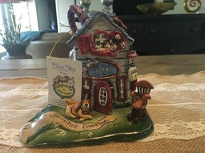 """Blue Sky Clayworks """"Over the Hill"""" Club House Heather Goldminc Candle House"""