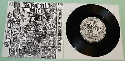 Entombed / New Bomb Turks - Night Of The Vampire / I Hate People - 1995 UK 7""