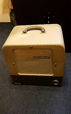 Vintage 1952 Bell And Howell DES 202 / 285 B-1 Stand Alone Speaker Cabinet