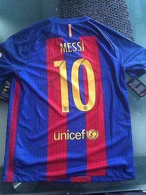FC Barcelona Jersey Signed By Lionel Messi