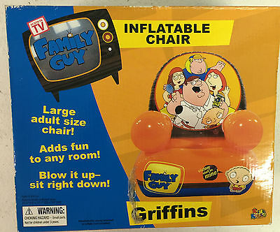 Family Guy - boxed sealed inflatable chair