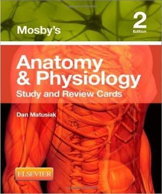 Mosby's Anatomy & Physiology Study and Review Cards,2nd Edition by Dan Matus-PDF