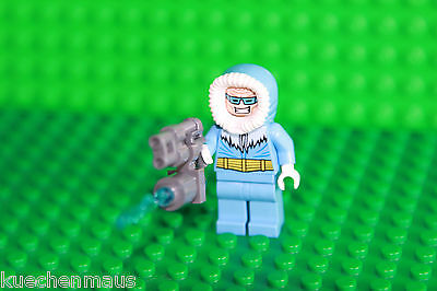 LEGO DC Super Heroes from Set 76026 Figurine Captain Cold with Ice Shooter NEW
