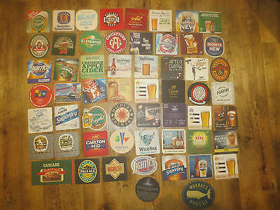 57 Different AUSTRALIAN BREWERIES Issues collectable  COASTERS