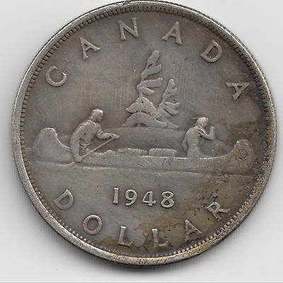 1948 Canadian Silver Dollar, REPRODUCTION/COPY of the King Of Dollars