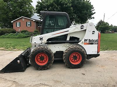 2011 Bobcat S630 Skid Steer Wheel Loader Rubber Tire Full Cab - Door New Tires