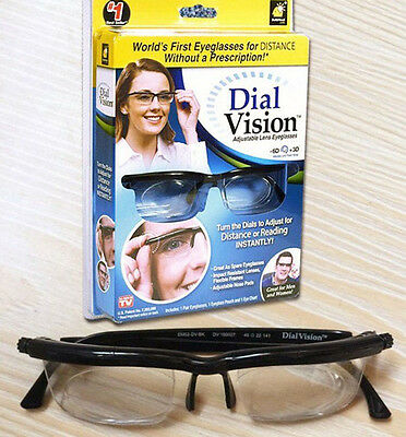 Dial Vision Sunglasses With Lenses Adjustable To Different Views -6D 3D