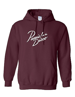 """Panic! At The Disco """"too Weird To Live, Too Rare To Die"""" Hoodie New"""