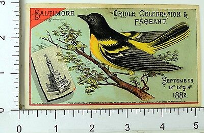 1882 Rochester Beer Southern Bottling, Bartholomay Mechanical Oriole Bird F69