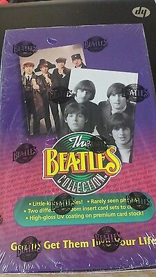 """""""The Beatles Collection"""" Value Pack Factory Sealed Unopened Box Trading Cards"""