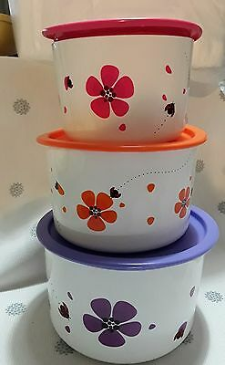 Tupperware One Touch Tupper Blossom Set