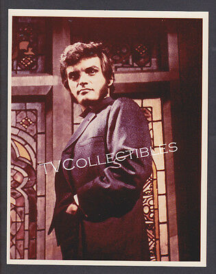 8x10 Photo~ DARK SHADOWS ~1960s TV ~David Selby as Quentin ~Stained glass~Horror
