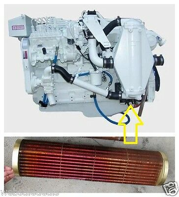 Aftercooler Core 4025340 Cummins C Series Marine Engine, QSL9, WET QSM