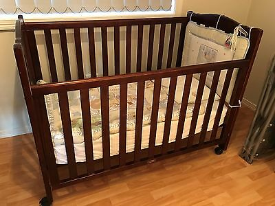 Love 'n' Care baby cot with mattress and Manchester