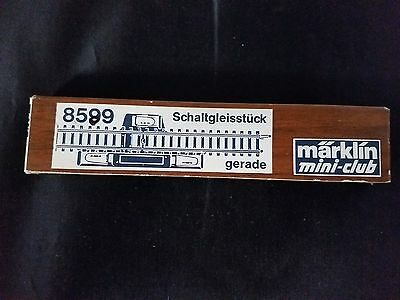Marklin 8599 Switching Track Section Straight Z Mini club