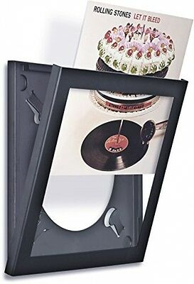 Art Vinyl Play and Display Record Frame (Black)
