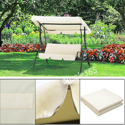 Various Size Replacement Canopy Roof Sun Cover For 2-3 Seater Hammock Swing Seat