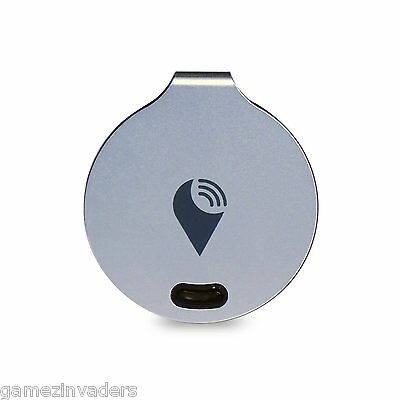TrackR Bravo Silver Bluetooth Tracking Device iPhone Android Tracker Aus Seller