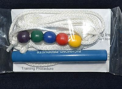 """Best Brock String Vision Therapy 5 """"Obedient"""" Beads Handle 6 Feet Instructions"""