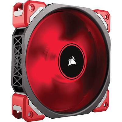 Corsair ML120 Pro LED, Red, 120mm Premium Magnetic Levitation Desktop PC Fan