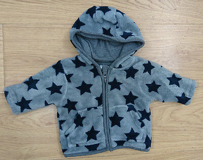 Next Baby Boys Fleece Jacket Age 0-3 Months New